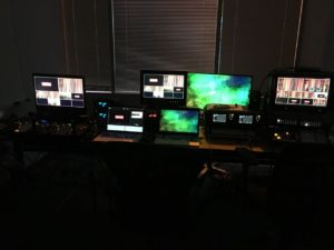 Town Hall Meeting Video Control Room