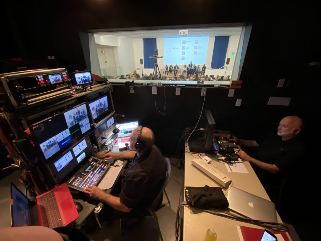 Rheacom video webcast production for corporate TV